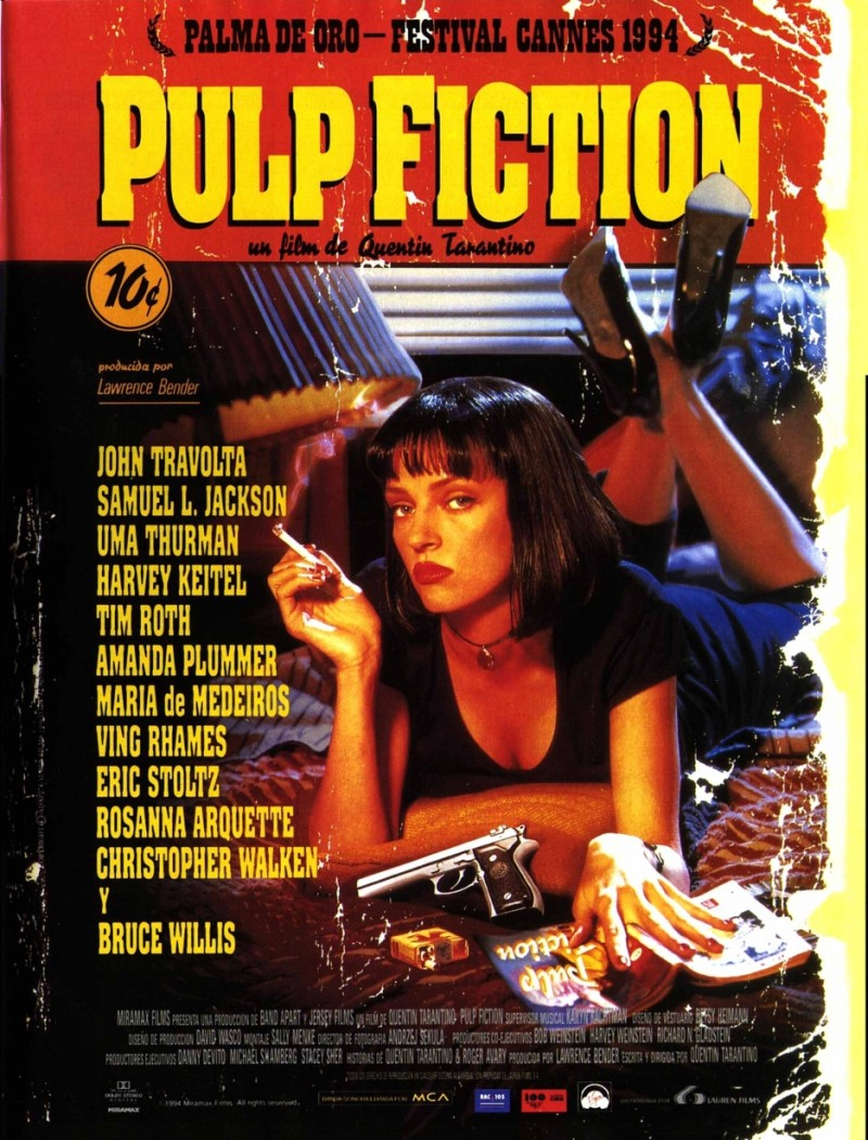 pulp fiction review essay A movie review of pulp fiction a formal paper include the feel of the movie bring life into the paper bring detail/quotes into the paper.